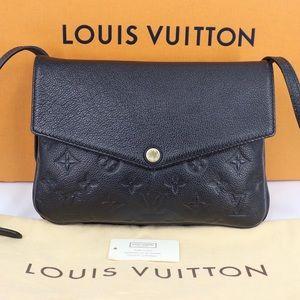100% Leather Louis Vuitton Crossbody